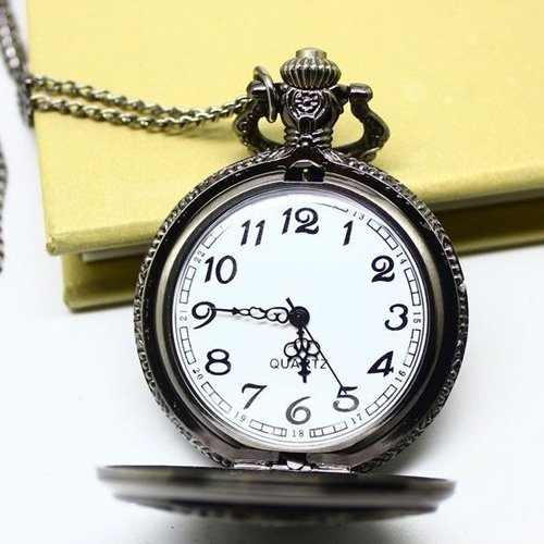 high quality chain vintage necklace black deacon
