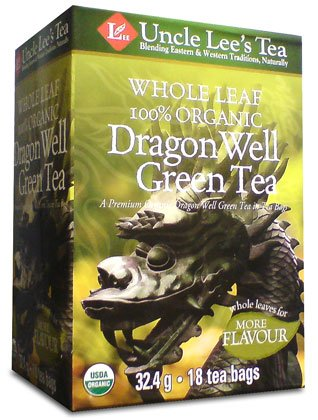 Whole Leaf, Organic Dragon Well Green Tea-18 Bags Brand: Uncle Lees Tea