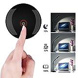 VicTsing-4W-dimmbare-Augenschutz-Schreibtischlampe-LED-Lampe-360-drehbar-Touch-Control-Tischlampe-mit-Schwanenhals-USB-Anschluss-und-3-Helligkeitsstufen
