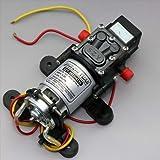 ZJchao DC 12V 100PSI 4L/Min Diaphragm Water Self Priming Pump High Pressure Car BOAT