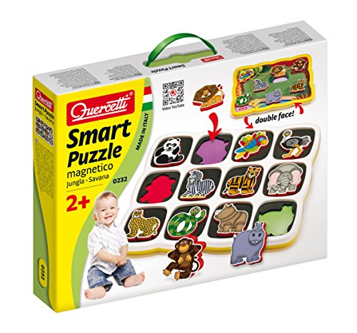 Quercetti Magnetic Savanna Puzzle