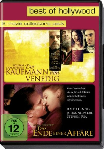 Best of Hollywood - 2 Movie Collector's Pack: Der Kaufmann von Venedig / Das Ende einer Affäre [2 DVDs]