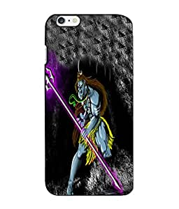 Crazymonk Premium Digital Printed 3D Back Cover For Apple I Phone 6