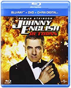 Johnny English Returns (Blu ray y DVD) [Blu-ray]