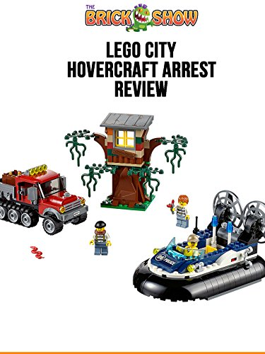 LEGO City Hovercraft Arrest Review LEGO 60071