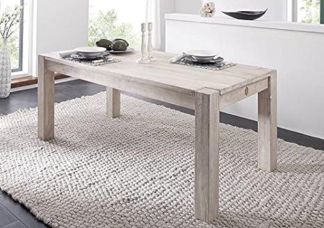 Meubles en bois massif avec table en acacia massif 200 x 100 (#106 meuble nature