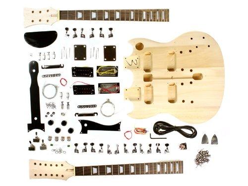 stellah kit guitare electrique style t 12 cordes a monter soi-meme