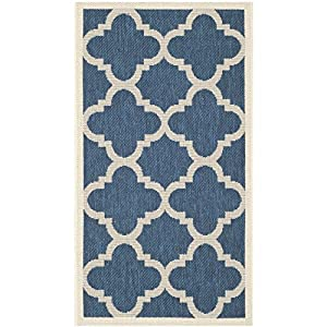 Amazon Safavieh Courtyard Collection CY6243 268 Navy