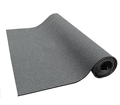Kharma Khare Reincarnated Lite Non Slip Eco-friendly Yoga Mat - 4 Mm (Black)