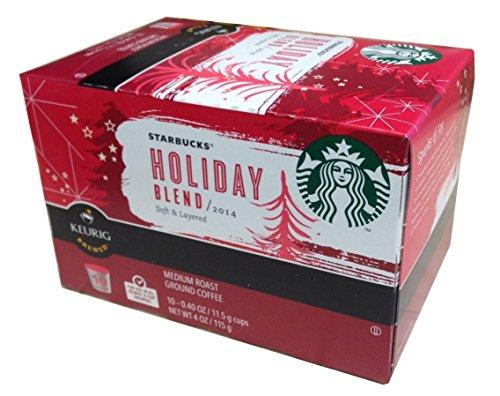 【ハワイ発送】キューリグ スターバックス 2014年版 ホリデーブレンド Kカップ 10個入り Starbucks 2014 Holiday Blend Keurig K-cups (10ct)