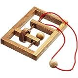 Philos 6107 - Verflixter Rahmen,Seilpuzzle, Knobelspiel