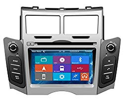 See Crusade Car DVD Player for Toyota Yaris 2005-2011 Support 3g,1080p,iphone 6s/5s,external Mic,usb/sd/gps/fm/am Radio 6.2 Inch Hd Touch Screen Stereo Navigation System+ Reverse Car Rear Camara + Free Map Details