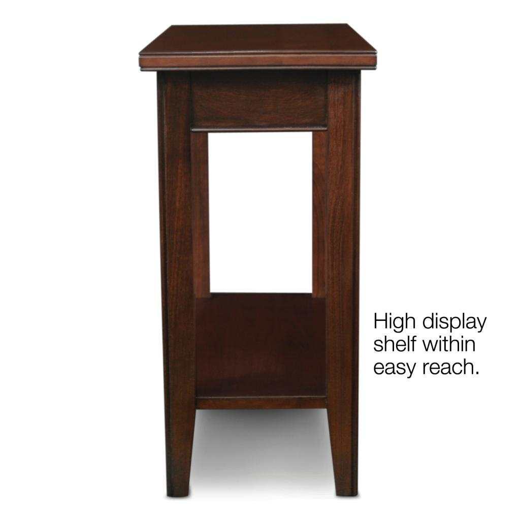 Leick Laurent Narrow Chair Side End Table Leick Furniture