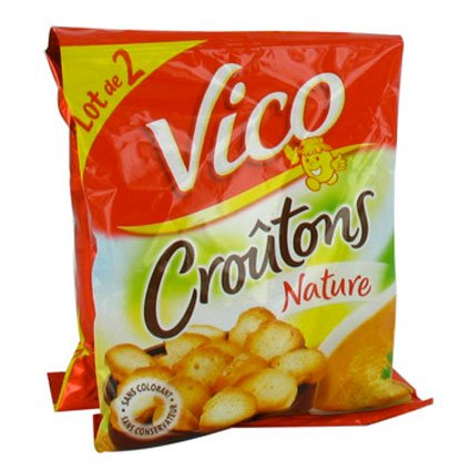 French natures croutons Vico-croutons natures - 180 gr