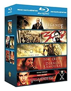 Coffret Action - 5 films : 300 , Troie ... [Blu-ray]