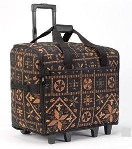 """BlueFig TB20IM Wheeled Travel Bag 20"""" (Black Quiltin') by BlueFig"""