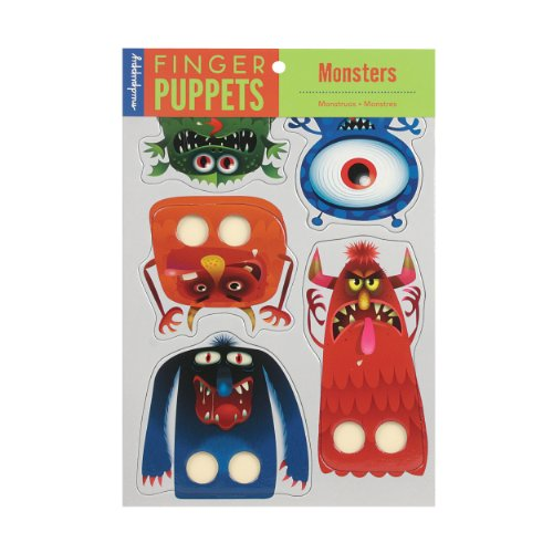 Mudpuppy Monsters Finger Puppets