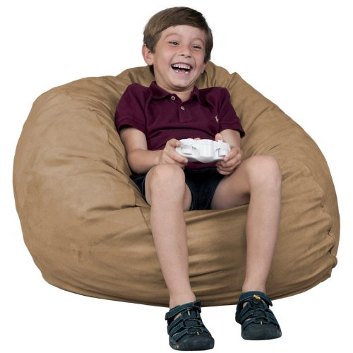 Kids Bean Bag Chair Fugu Brand Sage - Small 2' front-1028294