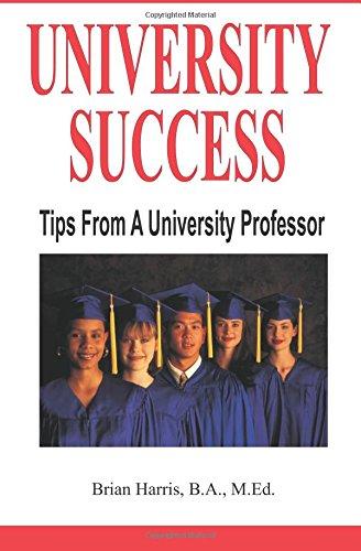 University Success: Tips From A University Professor