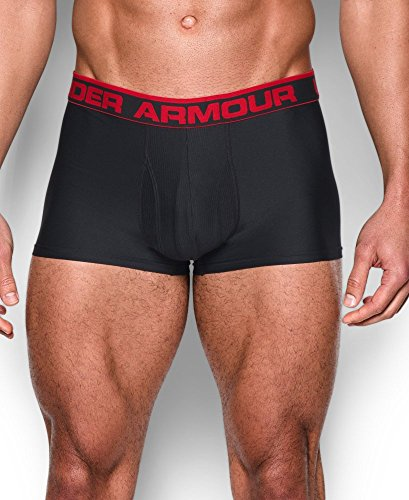"Under Armour Men's Original Series 3"" Boxerjock, Black (001), Medium"