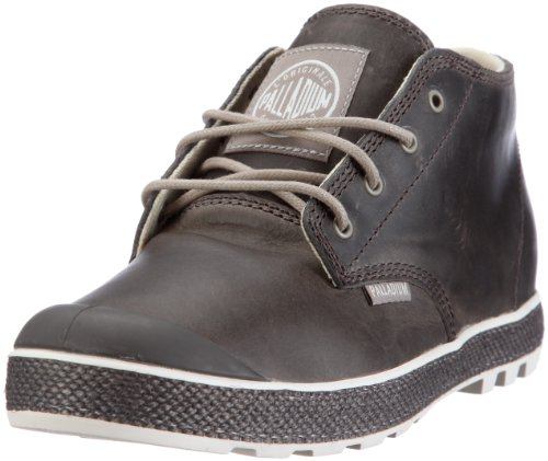 Palladium Slim Chukka Leather Boots Moon Rock, Gre