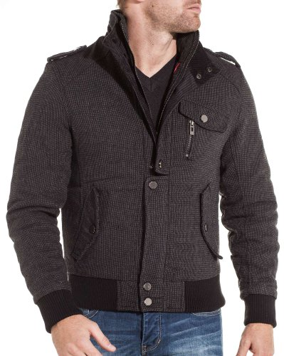 Gov denim - Man jacket anthracite trend and fashion - Color: Grey Size: XL