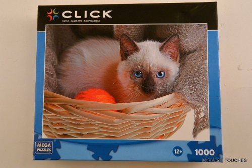 Click Sweet Kitty 1000 Piece Puzzle