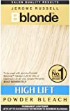 Jerome Russell B-Blonde High Lift Powder Bleach Sachets For Use With Cream Peroxide 4