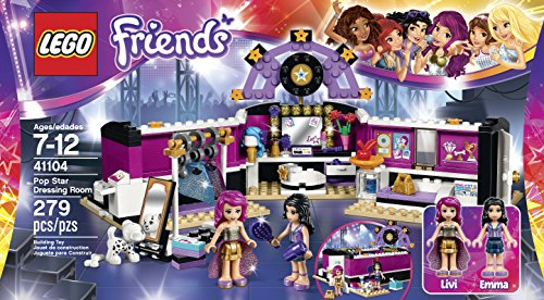 LEGO Friends 41104 Pop Star Dressing Room Building Kit JungleDealsBlog.com