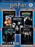 Harry Potter Instrumental Solos Violin (with CD)