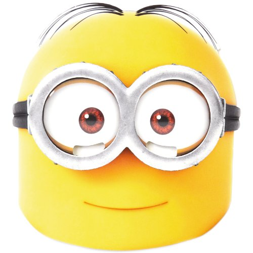 Mask-Arade Men's Despicable Me Minion Costume Mask - Dave