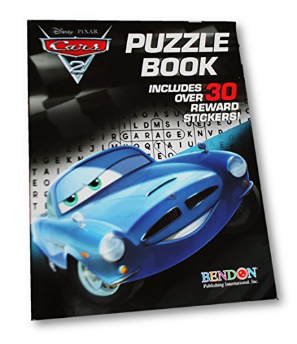 Cars 2 Puzzle Book ~ Includes Over 30 Reward Stickers - 1