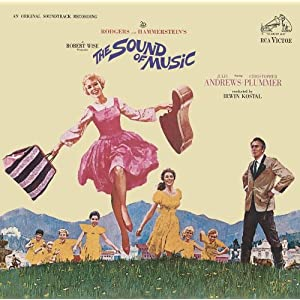 The Sound of Music album cover. Image from Amazon.