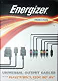 Energizer Power & Play Universal Output Cables (PS3, Xbox 360, Wii)