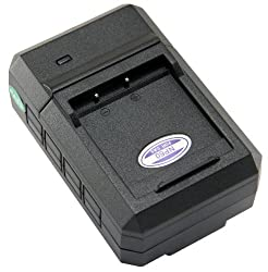 STK's Casio NP-60 Battery Charger - for Casio Exilim EX-FS10, EX-S10, EX-S12, EX-Z80, EX-Z9, EX-Z90, EX-Z29, EX-Z85, EX-Z19, EX-Z20, BC-60L from STK/SterlingTek