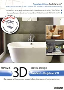3d architekt badplaner v11 software. Black Bedroom Furniture Sets. Home Design Ideas