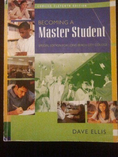 BECOMING A MASTER STUDENT (Special Edition For Long Beach City College)