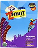 Clif Kid Organic Fruit Rope, Variety Pack, Strawberry, Mixed Berry, Grape, 0.7-Ounce Bars, 48 Count