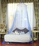 Netting Baldachin Rund Moskitonetz - Blau