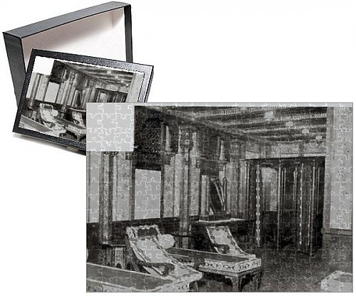 Photo Jigsaw Puzzle of The Turkish Bath Cooling Room on board the Titanic
