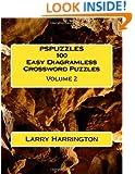 PSPUZZLES 100 Easy Diagramless Crossword Puzzles Volume 2