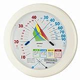 EMPEX(エンペックス) 環境管理温・湿度計「熱中症注意」(壁掛用) TM-2482   (エンペックス (EMPEX))