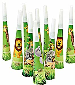 Theme My Party Theme My Party Jungle Theme Horns