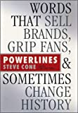 img - for Powerlines: Words That Sell Brands, Grip (text only) by S.Cone book / textbook / text book