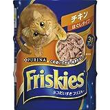 フリスキー缶 チキンほぐしタイプ155G×3P