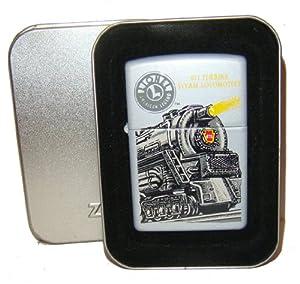 Zippo Lighter 671 Turbine Steam Locomotive Series-RARE