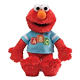 Gund 38cm Sesame Street ABC Talking Elmo Plush