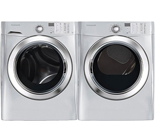 Frigidaire Silver Front Load Laundry Pair with FFFS5115PA 27