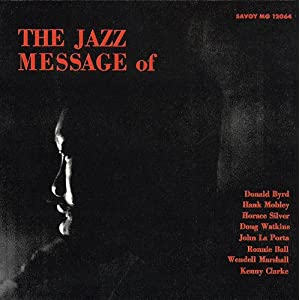 Hank Mobley - Jazz Message 1 cover