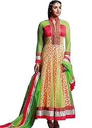 Kashmira's Women Net Embroidered Anarkali Suit